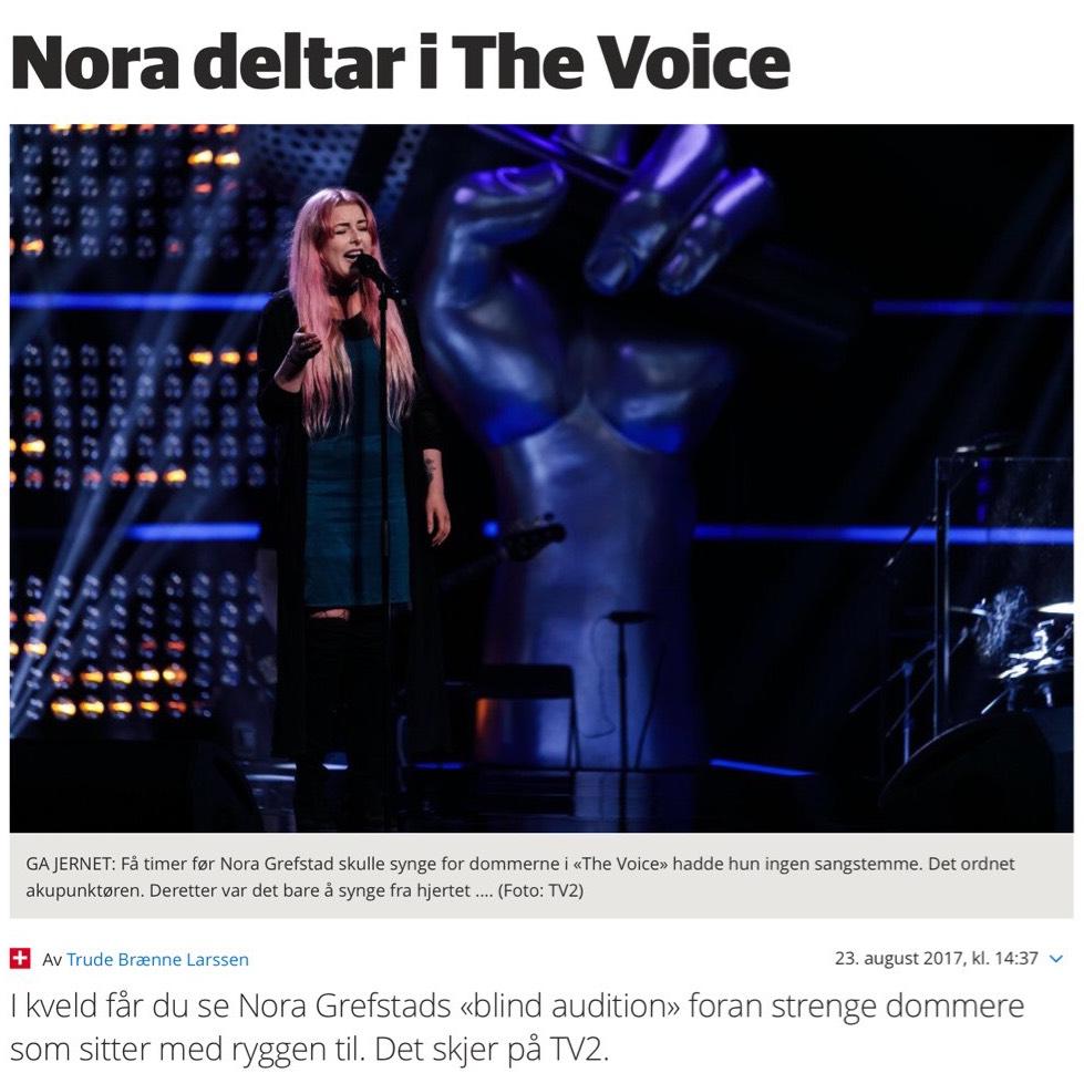mistet stemmen