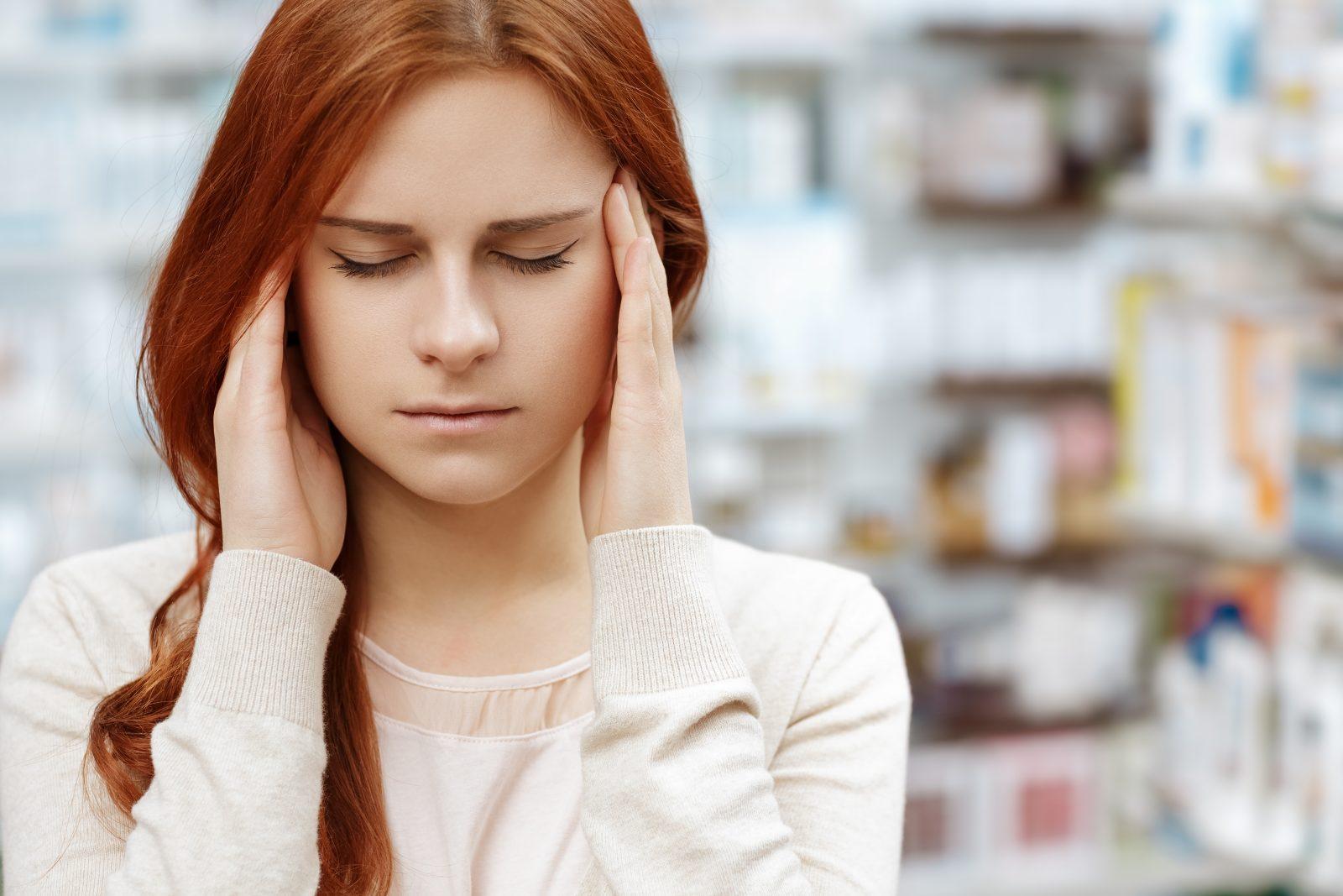 hodepine og kvalme