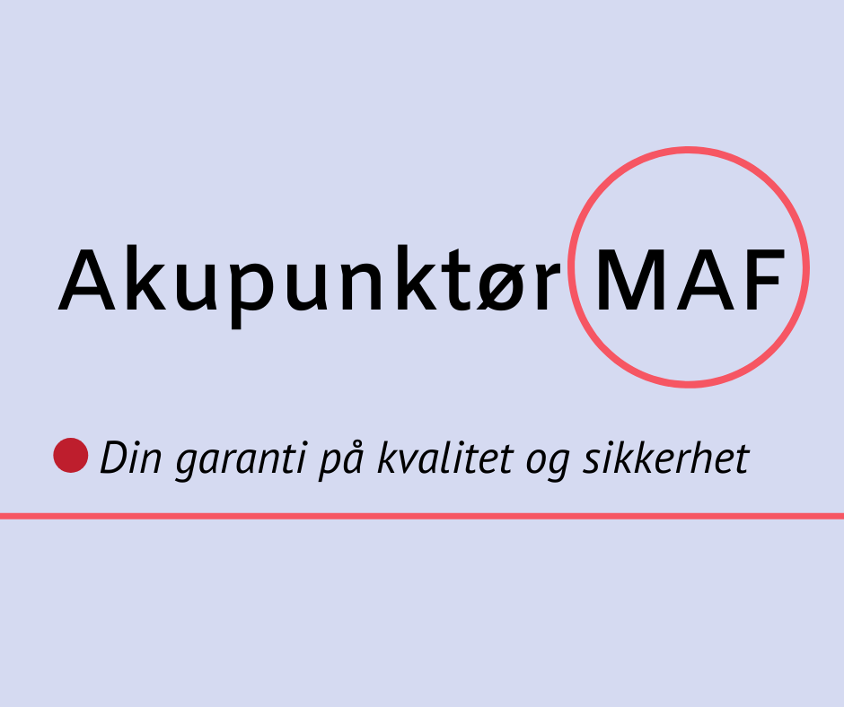 Akupunktør MAF